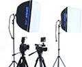 写真スタジオ撮影機材